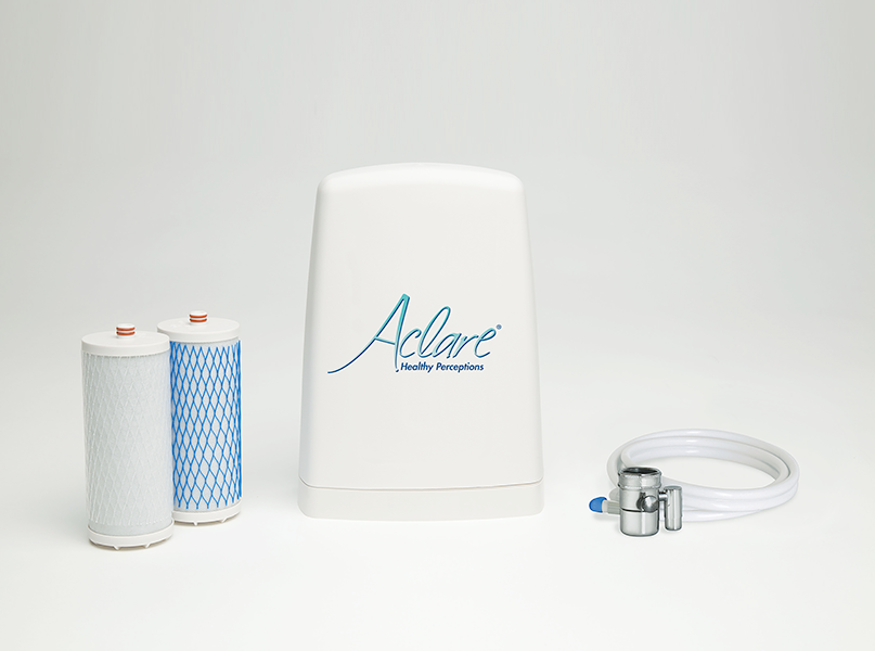 aclare countertop water filter system aclare by waterwise. Black Bedroom Furniture Sets. Home Design Ideas
